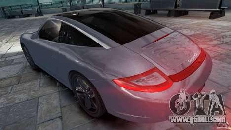 Porsche Targa 4S 2009 for GTA 4 left view