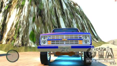 Chevrolet Suburban 1986 for GTA 4 side view
