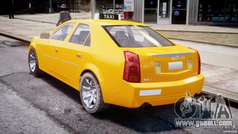 Cadillac CTS Taxi for GTA 4 side view