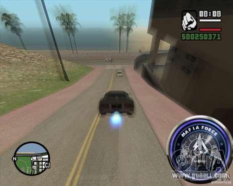 Speedometer-2 for GTA San Andreas third screenshot