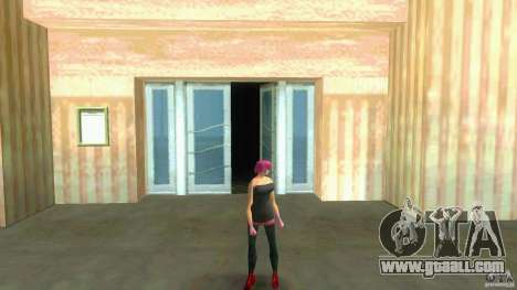 Girl Player mit 11skins for GTA Vice City seventh screenshot