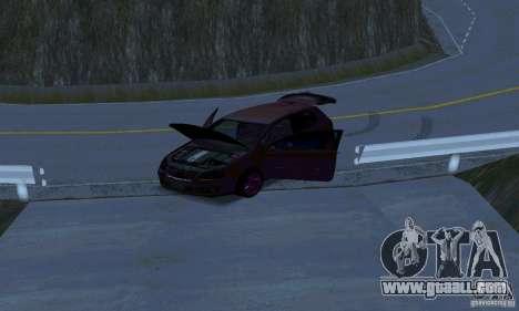 Volkswagen Golf V JDM Style for GTA San Andreas inner view