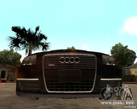 Audi A6 3.0 TDI Quattro for GTA San Andreas right view