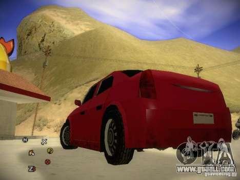 Chrysler 300C for GTA San Andreas back left view