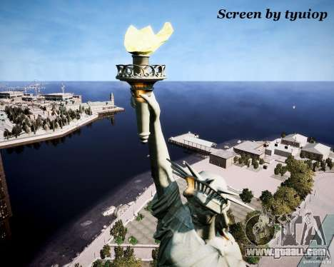 New Statue of Liberty for GTA 4 forth screenshot