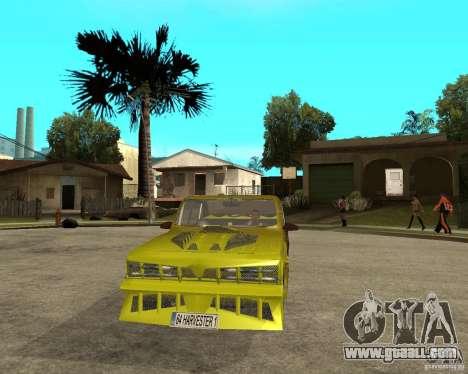 Anadol GtaTurk Drift Car for GTA San Andreas back view