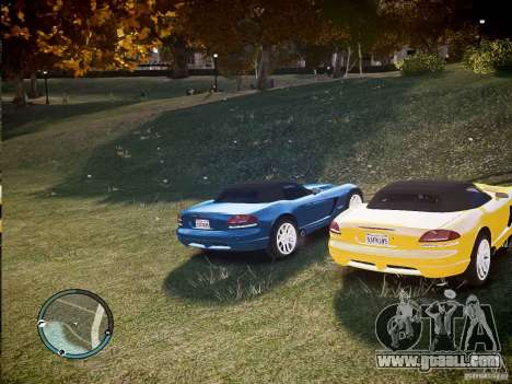 Dodge Viper SRT-10 2003 for GTA 4 right view