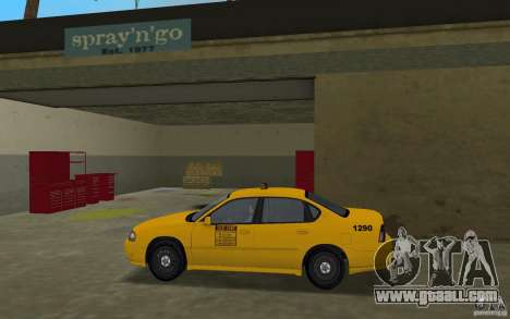 Chevrolet Impala Taxi for GTA Vice City