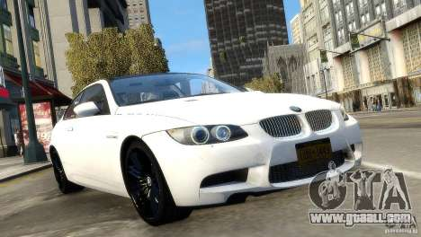 BMW M3 E92 2008 v1.0 for GTA 4 right view