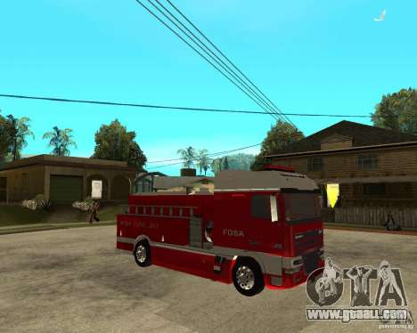 DAF XF 530 Fire for GTA San Andreas right view