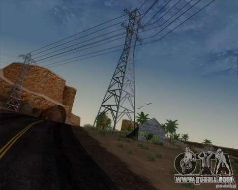 HQ Country N2 Desert for GTA San Andreas forth screenshot