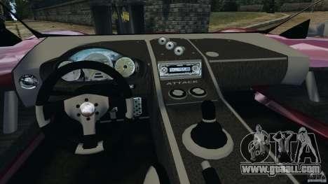 K-1 Attack Roadster v2.0 for GTA 4 back view