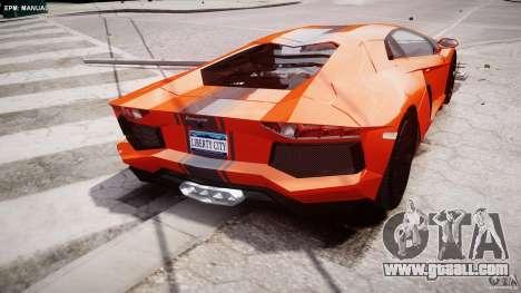 Lamborghini Aventador LP700-4 2011 [EPM] for GTA 4 bottom view