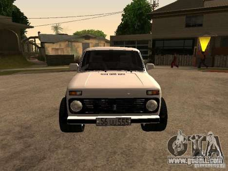 Armenian NIVA DORJAR 4 x 4 for GTA San Andreas left view