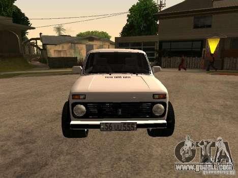 Armenian NIVA DORJAR 4 x 4 for GTA San Andreas left view