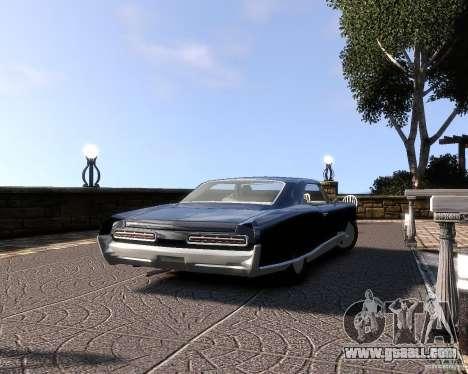 Pontiac Bonneville 1966 for GTA 4 right view