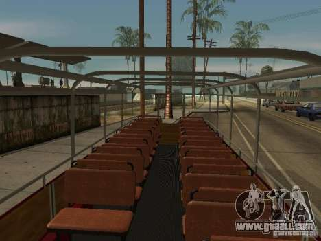 LIAZ 677 Excursion for GTA San Andreas back view