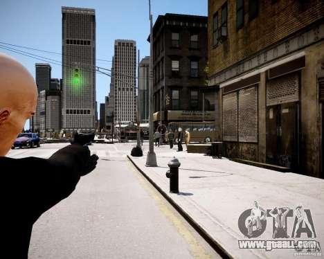 Hitman Blood Money Skin for GTA 4 third screenshot