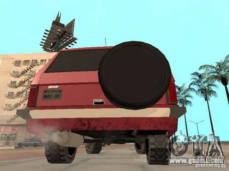 The New Huntley for GTA San Andreas right view