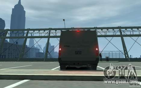 Ford Transit 2011 for GTA 4 right view