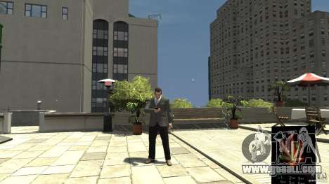 Ganja PhoneCell Theme for GTA 4 second screenshot
