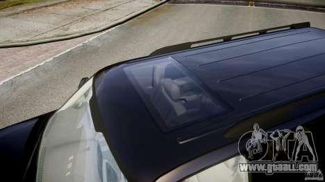 Chevrolet Suburban Z-71 2003 for GTA 4 bottom view
