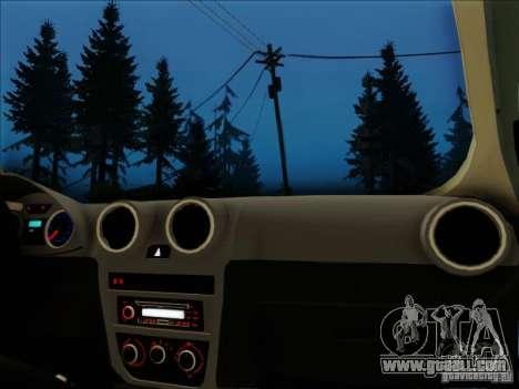 Volkswagen Saveiro 2014 for GTA San Andreas right view