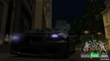 Speedometer VAZ 2110 for GTA San Andreas forth screenshot