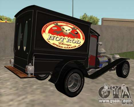 Ford model T 1923 Ice cream truck for GTA San Andreas left view
