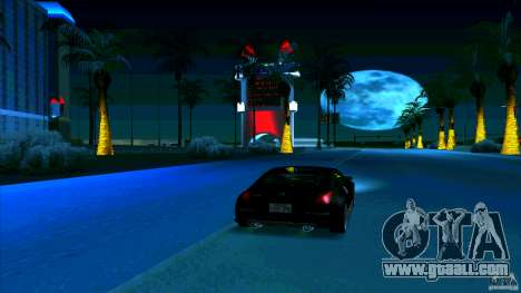 Nissan 350Z JDM for GTA San Andreas inner view