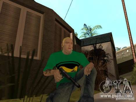 Skin Eminema for GTA San Andreas seventh screenshot