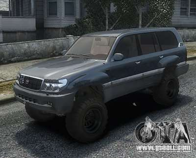 Toyota Land Cruiser 100 for GTA 4