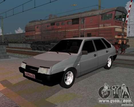 VAZ 2109 Sputnik for GTA San Andreas