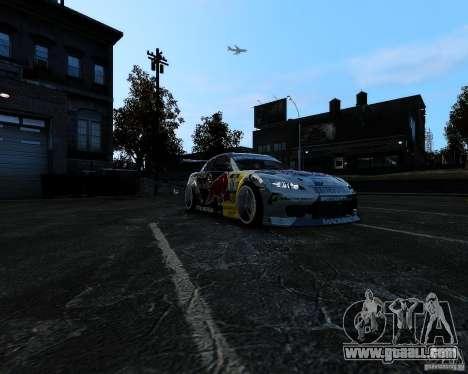 Mazda RX8 Redbull for GTA 4 back view