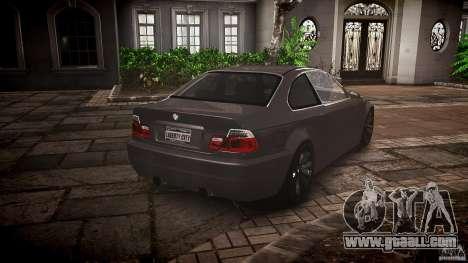 BMW 3 Series E46 v1.1 for GTA 4 inner view