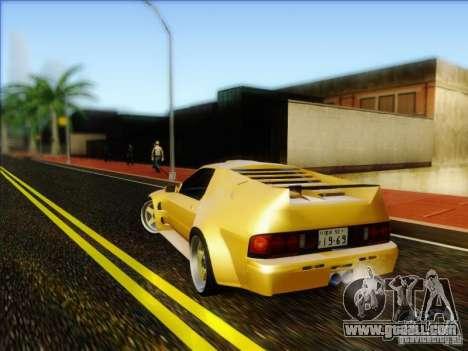Diablo-Seven for GTA San Andreas left view