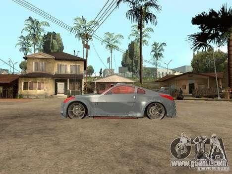 Nissan 350Z Virgo for GTA San Andreas left view