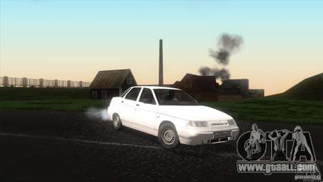 Vaz 2110 Drain for GTA San Andreas right view
