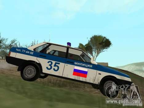 VAZ 21099 DPS for GTA San Andreas