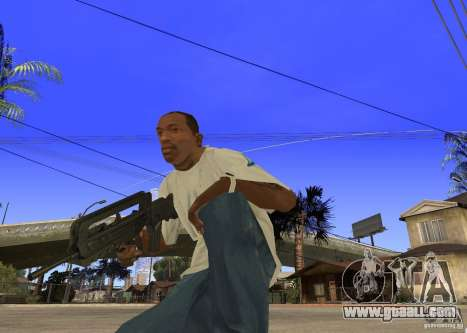 Famas-F1 for GTA San Andreas second screenshot