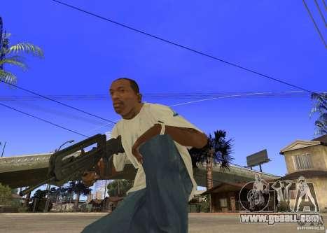 Famas-F1 for GTA San Andreas second screenshot