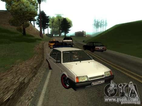 VAZ 21099 v. 2 for GTA San Andreas