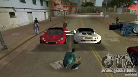 Lotus Elise for GTA Vice City right view
