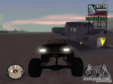 Monster Tampa for GTA San Andreas