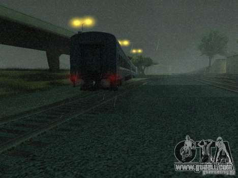 Switch rail shooter for GTA San Andreas second screenshot