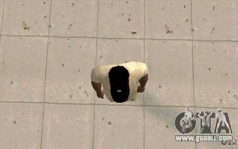 Cap newyorkyankiys black for GTA San Andreas third screenshot