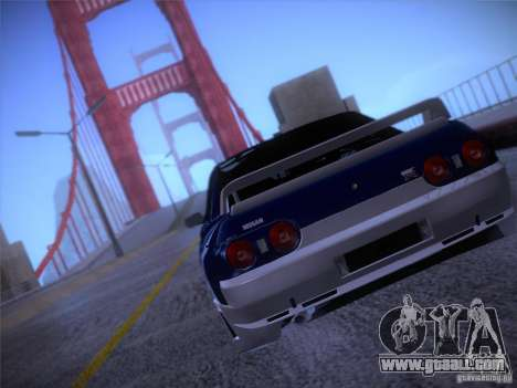 Nissan Skyline R32 Drift Tuning for GTA San Andreas right view