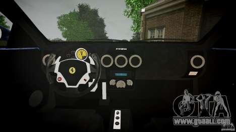 Ferrari F430 v1.1 2005 for GTA 4 back view
