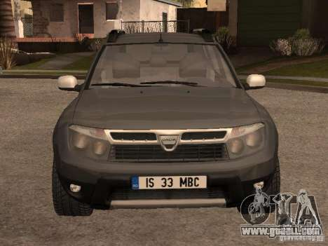 Dacia Duster for GTA San Andreas left view