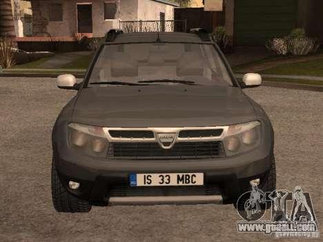 Dacia Duster for GTA San Andreas left view